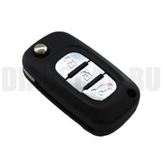Ключ выкидной Renault 3 кнопки