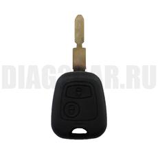 Ключ Citroen 2 кнопки #2