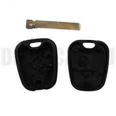 Ключ Citroen 2 кнопки #3