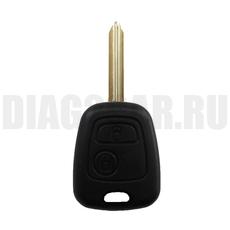 Ключ Citroen 2 кнопки #4