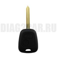 Ключ Peugeot 2 кнопки #4