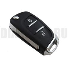 Ключ выкидной Peugeot 2 кнопки new st VA3L
