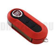 Ключ выкидной Fiat 3 черные кн SIP22