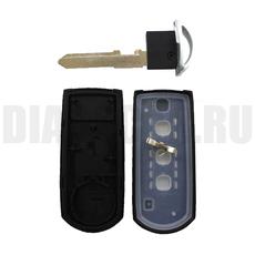 Смарт ключ Mazda 3 кнопки