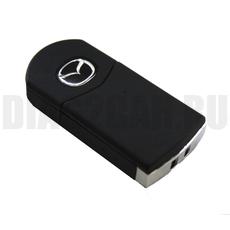 Ключ выкидной Mazda 2 кнопки MAZ24