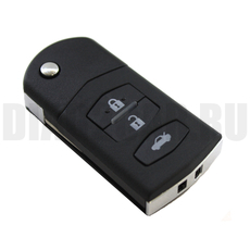 Ключ выкидной Mazda 3 кнопки MAZ24