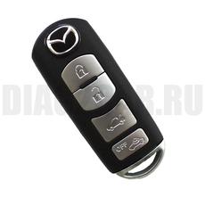 Смарт ключ Mazda 4 кнопки