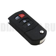 Ключ выкидной Mazda 3+1 кн MAZ24