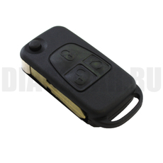 Ключ выкидной Mercedes Benz 3 кнопки HU39