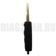 Ключ выкидной Mercedes Benz 3+1 кнопки HU64