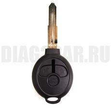 Ключ Mitsubishi 3 кнопки MIT11 правое лезвие