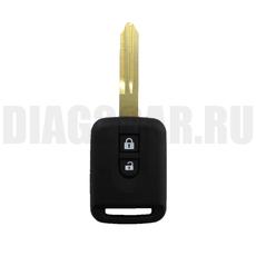 Ключ Nissan 2 кнопки NSN14