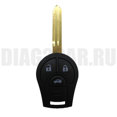 Ключ Nissan 3 кнопки #1