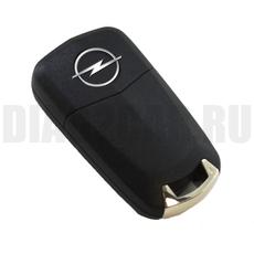 Ключ выкидной Opel 2 кнопки HU100