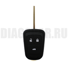 Простой ключ Opel 3 кн HU100