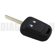 Простой ключ Nissan HU100 2 кнопки