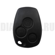 Ключ зажигания Renault 3 кнопки с чипом