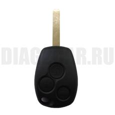 Корпус простого ключа Renault 3 кнопки VA2