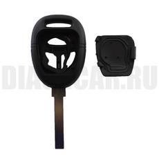 Корпус ключа Saab 3 кнопки простой