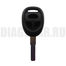 Корпус ключа Saab 3 кн простой с канавкой