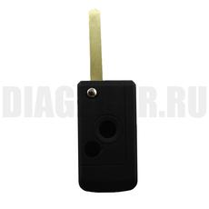 Болванка выкидного ключа Subaru 2 кнопки