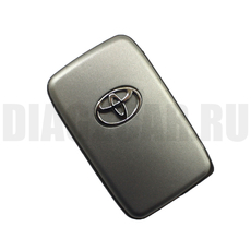 Смарт ключ Toyota 2 кнопки TOY43 кругл