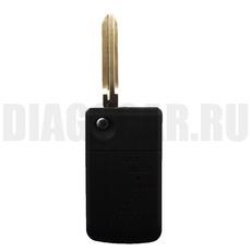 Ключ выкидной Toyota 2 боковые кнопки TOY43