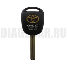 Ключ Toyota 2 кнопки TOY48 (37мм)