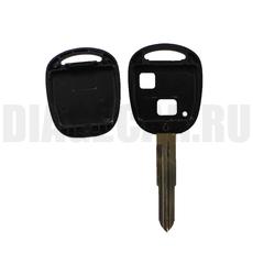 Ключ простой Toyota 2 кнопки