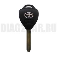 Ключ Toyota 3 кнопки корпус