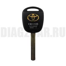 Ключ обычный Toyota 2 кнопки TOY40 (44 мм)
