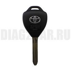 Ключ Toyota 4 кнопки корпус