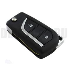 Ключ выкидной Toyota 2 кнопки новый стиль