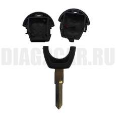 Ключ простой Volkswagen 2 кнопки