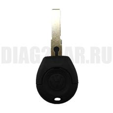 Заготовка простого ключа Volkswagen 2 кнопки