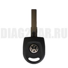 Ключ простой Skoda с фонариком