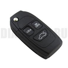 Ключ выкидной Volvo 3 кнопки