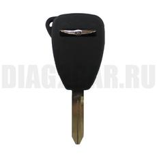 Ключ простой Chrysler 5 + 1 кнопка с резиновыми кнопками