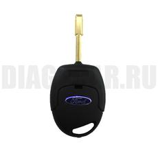 Ключ Ford 3 кнопки FO21 с ДУ (чип 4D60)
