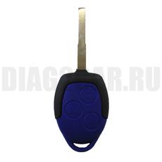 Ключ обычный Ford 3 кнопки HU101