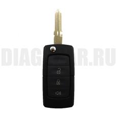 Корпус ключа выкидного Ford Форд 3 кнопки New