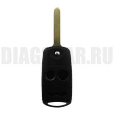 Корпус выкидного ключа Honda 2+1 кнопки HON66