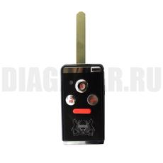 Ключ выкидной Honda 3+1 кнопки HON66