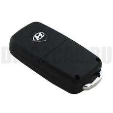Ключ выкидной Hyundai 2 кнопки