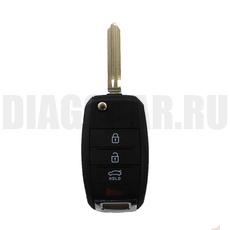 Ключ выкидной Hyundai 2+1 кнопки пустышка