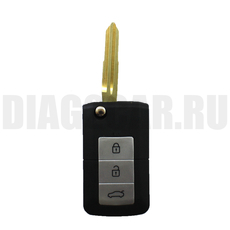 Ключ выкидной Kia 3+1 кнопки