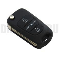 Ключ выкидной Hyundai 3 кнопки Accent