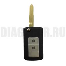 Ключ выкидной Kia 2+1 кнопки