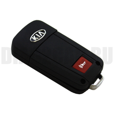 Ключ выкидной Kia 2+1 кнопки HYN6