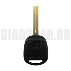 Ключ Lexus 2 кн TOY40 (44 мм) с Ду 433 MHz 4D67
